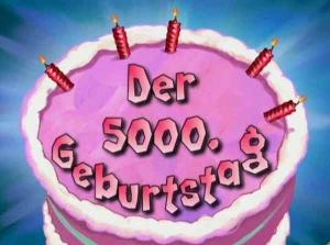 Der Geburtstag