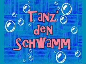 Tanz Den Schwamm
