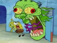 spongebob erschrocken