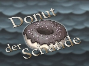 donut der schande episode spongepedia die weltweit. Black Bedroom Furniture Sets. Home Design Ideas