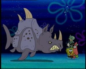Spongebob Helden Beim Zelten